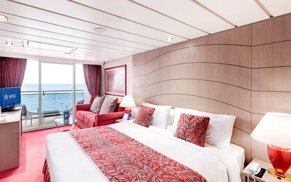 Suite auf der Energy Cruise