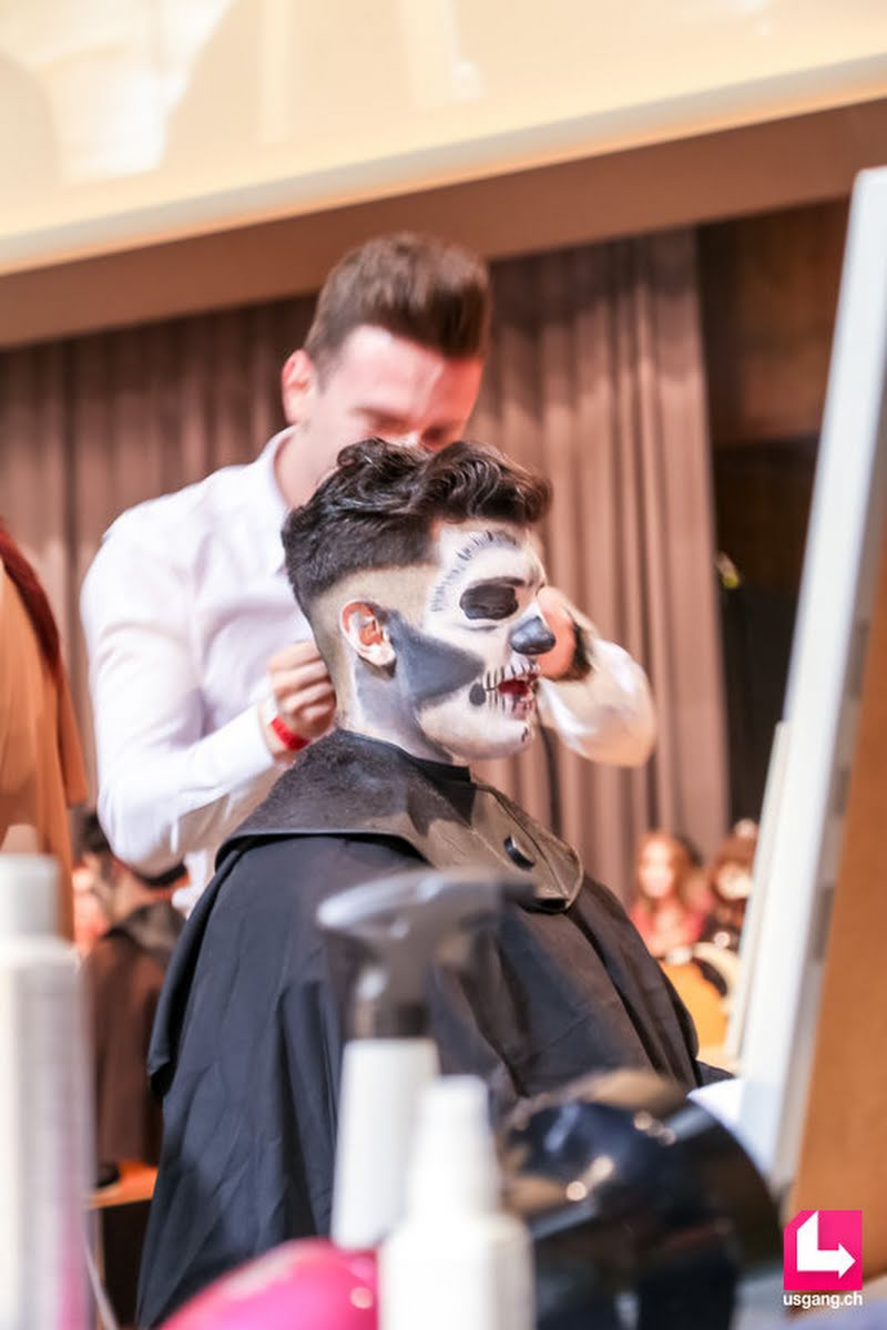 Party Pictures Coiffure Suisse Lehrlingsfrisieren Halloween