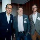 Dominique von Matt, Jung von Matt/Limmat AG - Daniel Gutenberg, VI Partners AG - Patrick Farinato, Bank Vontobel AG