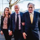 Filmproduzent Arthur Cohn mit Ringier-CEO Marc Walder und dessen Gattin Susanne