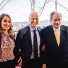 Filmproduzent Arthur Cohn mit Ringier-CEO Marc Walder und Gattin Susanne