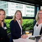 Catherine Mettler (Axpo Holding), Ulrike Novotny (Novomedtext AG), Esther Cristaudo (Keystone AG)