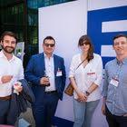 Ben David Bieri (MCI Schweiz), Felipe Gomez de Luis (VP Bank), Sonia Gracia (VP Bank), Andreas Kronenberg (KRONA moments)