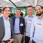 Lorenz Luginbühl (GFC Sports Management), Dominik Hafner (Sportsemotion), Harry Hofstetter (Reflection Marketing), Raffael Zanoni (Ochsner Sport)