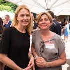 Petra Dreyfus (Wirz Communications), Corinne Machenbaum (UBS)