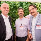 Francois Cochard (Markenregristrierung.ch), Giuseppe Altieri (Künzler Bachmann Directmarketing), Roger Muffler (Künzler Bachmann Directmarketing)