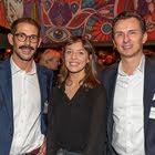 Florian Maag, Swisscom - Julia Fischhaber, Selbstständig - Daniel Kallay, Red Bull AG