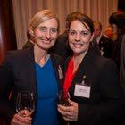 Julia von Wijnkoop (PSI Service (Switzerland) AG), Angela Heer (ISS Schweiz AG)