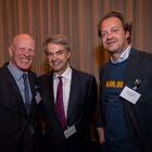 Marc Bohnenblust (B&H Communication, Matthias Ackeret (persönlich Verlags AG), Oliver Pabst (Mammut)