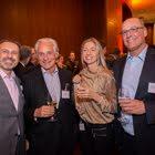 Peter Urs Naef (Naef Partners AG), Markus Meili (Markus Meili Consult), Brit de Oliveira-Fehr (SGO Verein), Dr. Peter Schmid (GfM Vorstand)