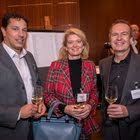 Philipp Boksberger (CEIBS), Carole Ramuz (Brandsoul), Daniel Renggli (ORACLE Switzerland)
