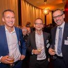 Beat Welti (Bischofszell Nahrungsmittel AG), Marc Engelhard (ISS Schweiz AG), Marc Heim (Emmi Gruppe)