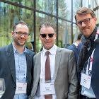 Marcel Weibel, Swiss Marketing Forum - Roman Frank, persönlich - Fabian Dieziger, Supertext AG