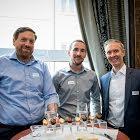 Vicenzo Tremonte, Meier + Cie AG Schaffhauser Nachrichten - Raphael Bauer, Gammeter Media AG - Sacha Meier, Meier + Cie AG Schaffhauser Nachrichten