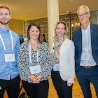 Leif Empen - Schnidler Aufzäge AG mit Karin Gutzwiller Alfred Müller AG und Mélanie Ryer Alfred Müller AG und Robert Schumacher gateB