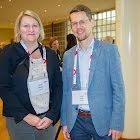Maya Wisard und Pascal Steiner beide von der Firma Hug AG