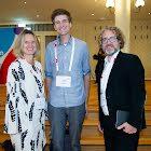 Elke Guhl Migros - Patick Rüts Plantec Foods und Glenn Oberholzer Stimme AG