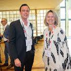 Jan-Hendrik Völker-Albert -PricewaterhouseCoopers AG mit Elke Guhl - Migros Fachmarkt AG