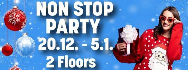 Non-Stop Party auf 2 Floors! Am Donnerstag geht's los!