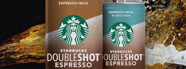 Der Doubleshot Espresso von Starbucks ist da!