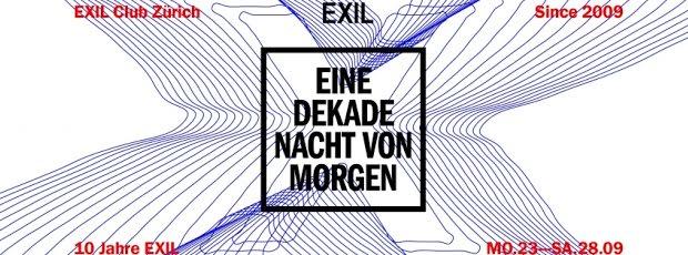 10 Jahre EXIL - Seit 10 Jahren für alle etwas dabei