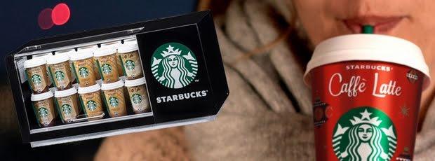 Gewinne jetzt einen coolen Starbucks Mini-Kühlschrank!