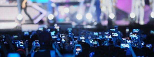Handyverbot: Stars verbannen das Smartphone von Konzerten