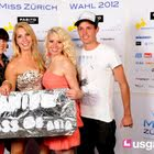 Miss Zürich 2012 - Wahlnacht - Fotowand