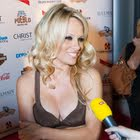 Pamela Anderson an der Summer Sunset Party