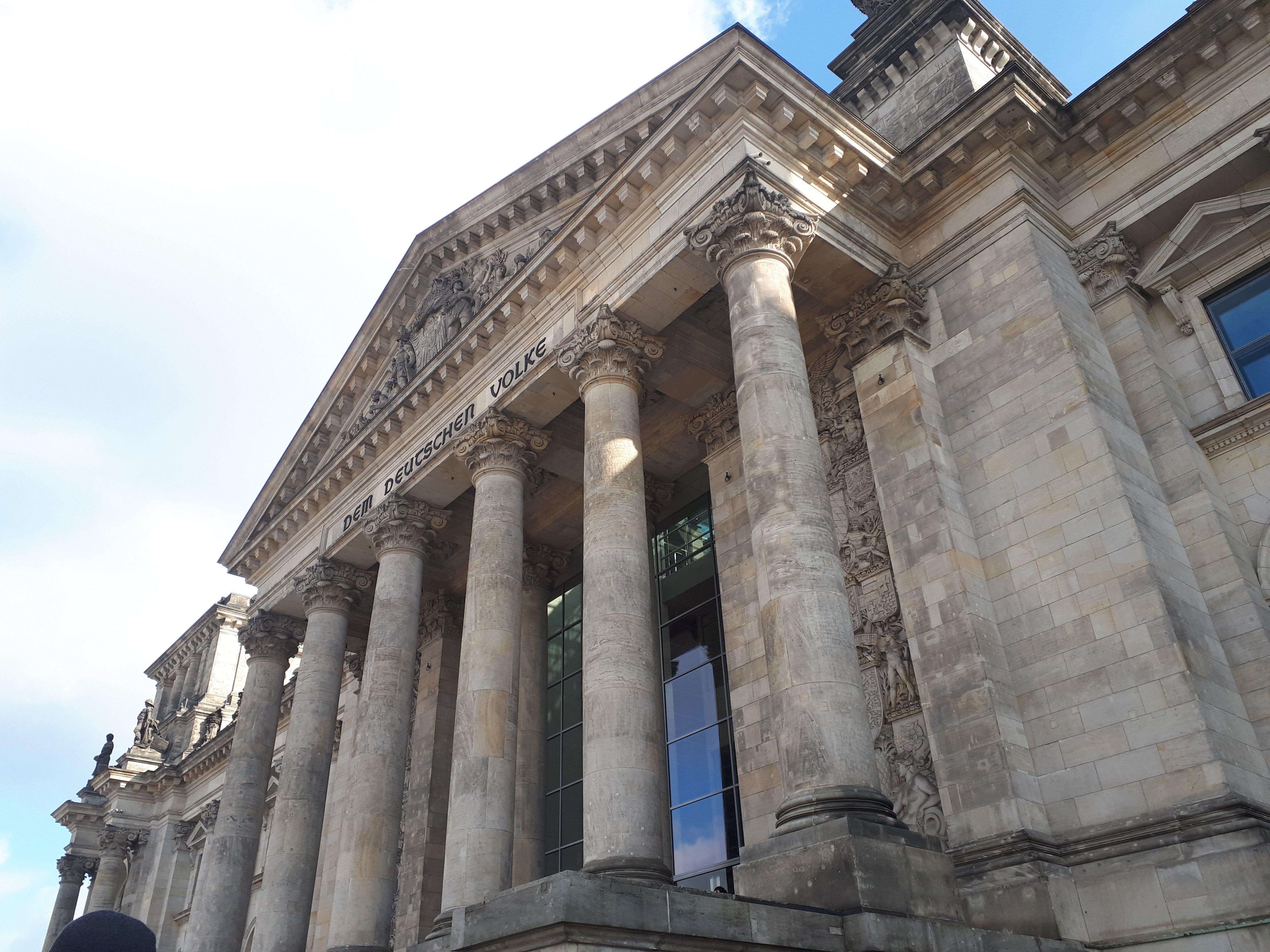 Wenn man schon in Berlin ist, warum nicht auch noch ins Bundeshaus?!