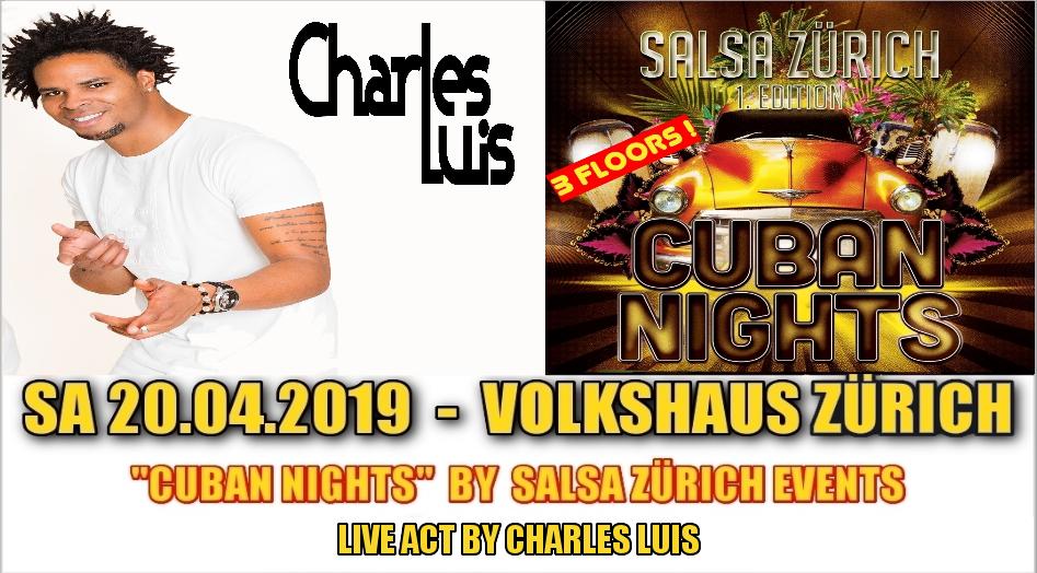 Charles Luis @ Cuban Nights