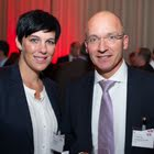 Nadine Borter (Stiftungsrat GfM, Contexta AG) & Urs Riedener (Vorstandsmitglied der GfM, Emmi Schweiz AG)