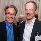 Christian H. Wipf (Vorstandsmitglied der GfM, Wipf Holding AG) & Philipp Sutter (CEO und Partner, Zühlke Engineering AG)