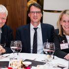 Thomas Frehner (Marketing, Migrol AG) & Jörg Diez, Director Marketing & Sales, Nielsen Online) & Beatrix Morath (Managing Partner, Roland Berger Strategy Consultants)