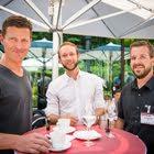 Patric Schmidlin, DAKTIV - Simon Bühler, Swisscom - André Kummer, EWL