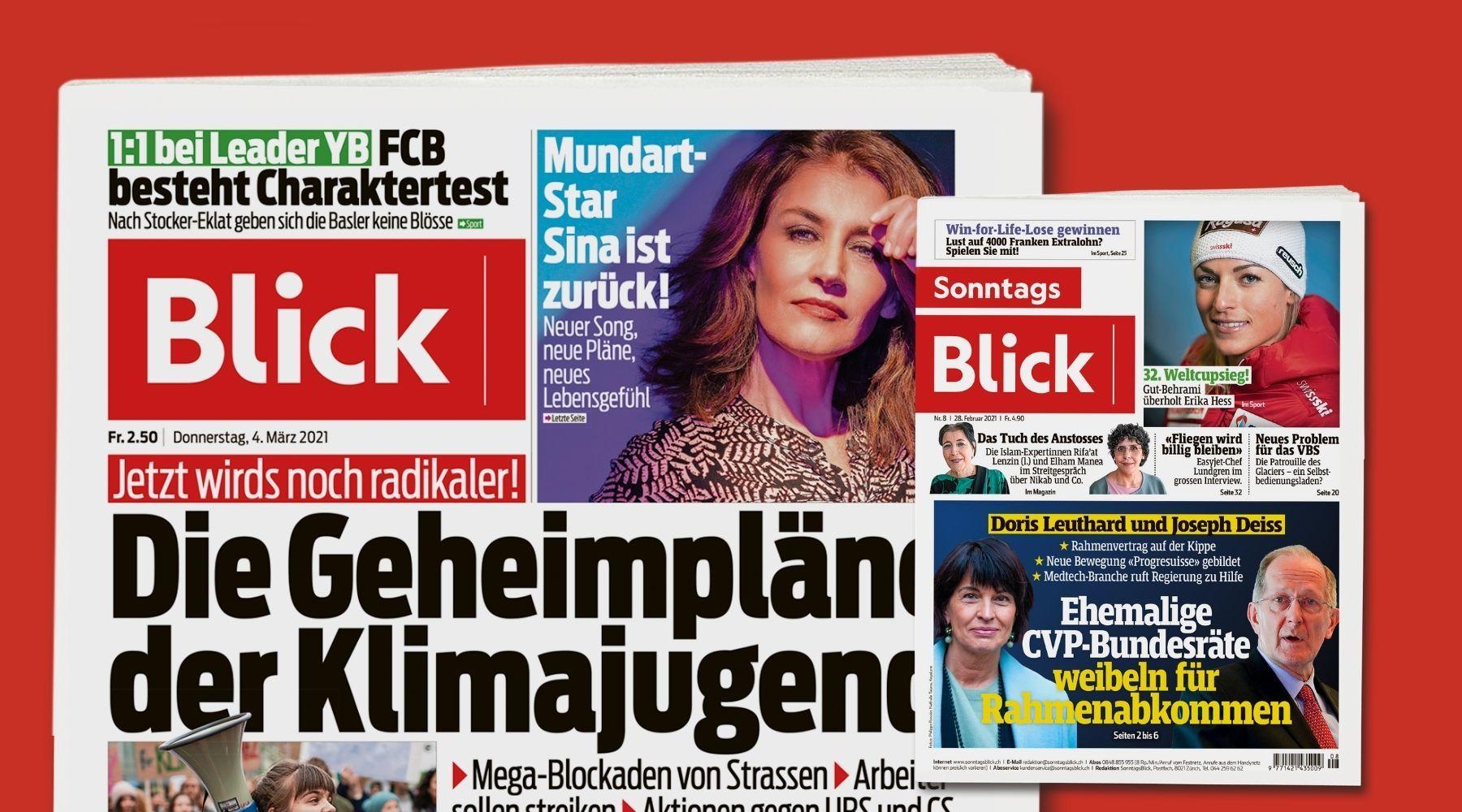 Blick und SonntagsBlick