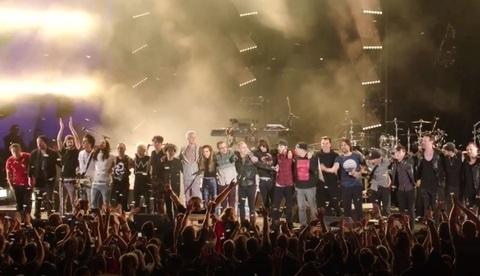 Linkin Park-Gedenkkonzert für Chester Bennington