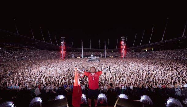 Ed Sheeran verzaubert bei Wien-Konzert mit Gitarre