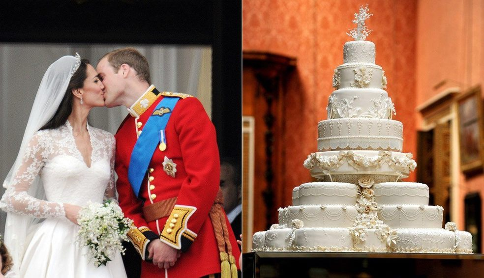 William Und Kate Royale Hochzeitstorte Wird Versteigert