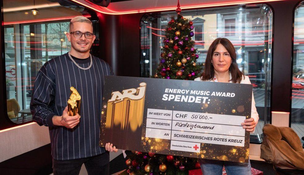 Loco Escrito erhält den Energy Music Award