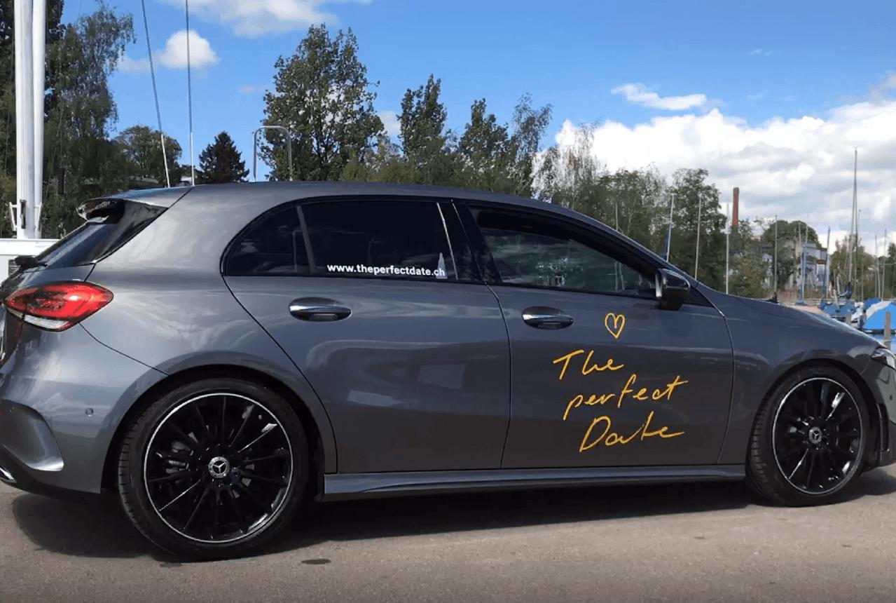 Auf ein perfektes Date mit Mercedes-Benz