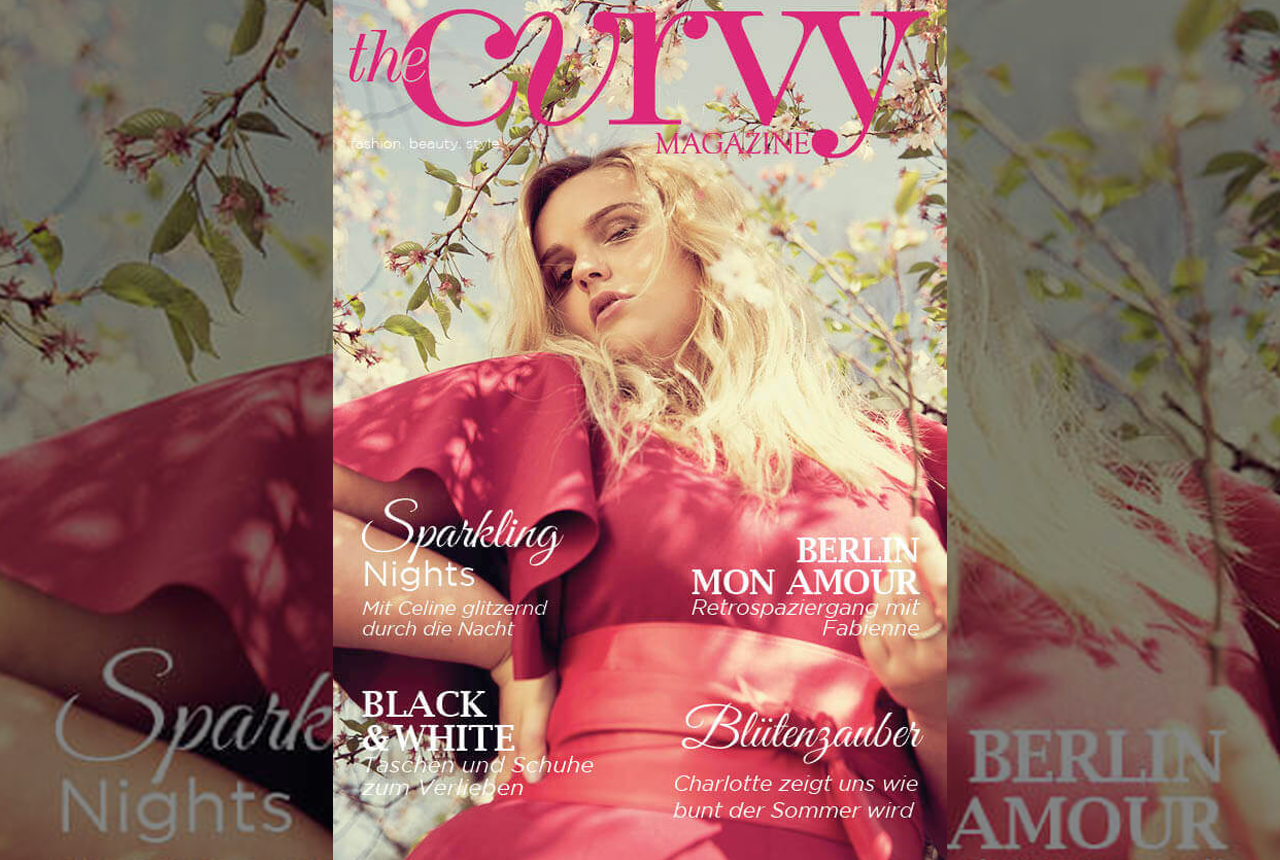 «The Curvy Magazine»: Das erste Plus-Size-Fashion Printmagazin