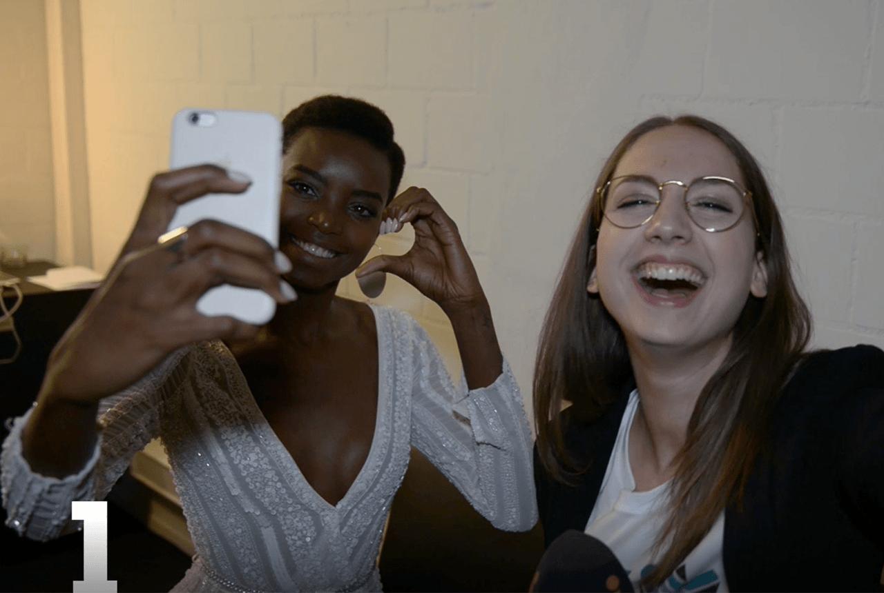 Die Selfie-Challenge mit Maria Borges
