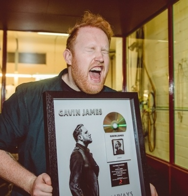 Energy Live Session mit Gavin James.