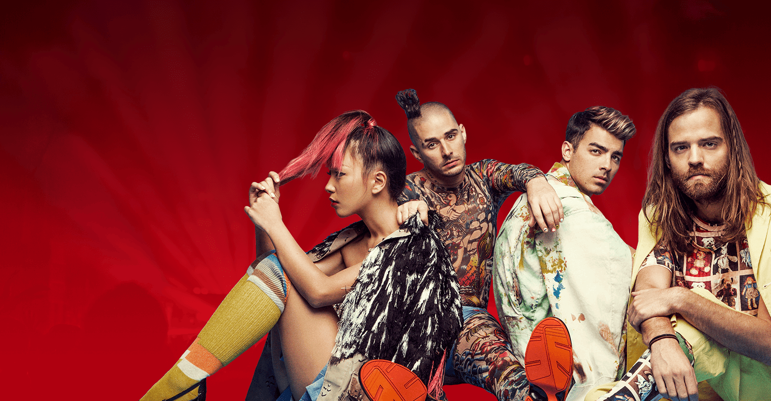 Energy Red Session mit DNCE