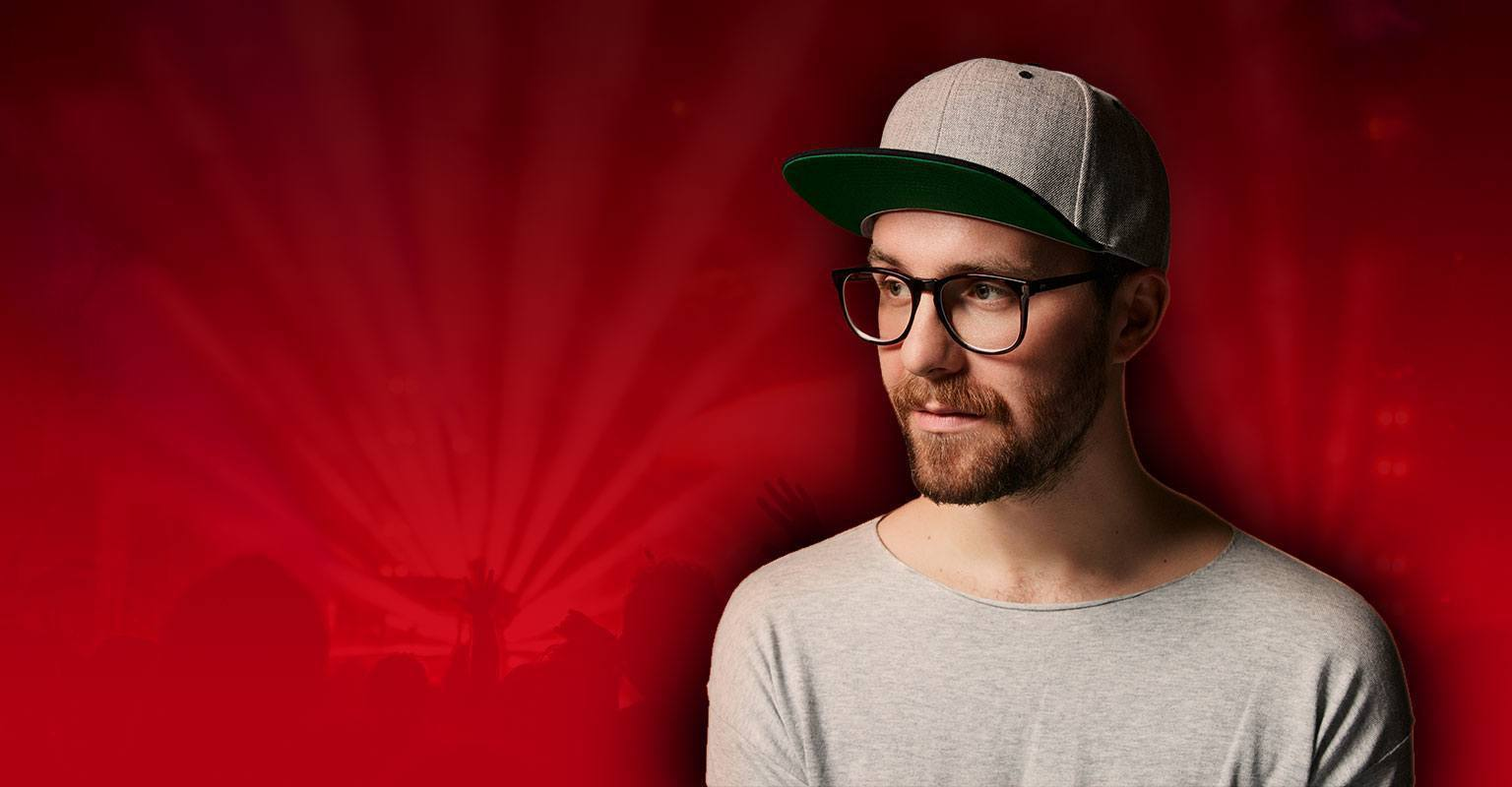 Energy Red Session mit Mark Forster